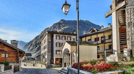 In the heart of Alagna